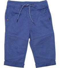 pantalon gabardina elasticado azul piedra  pillin