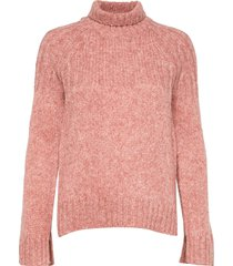 pinea knit t-neck turtleneck coltrui roze second female