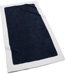 kassatex capri bath towel, size one size - blue