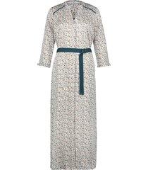 maxi jurk met print seleniwit