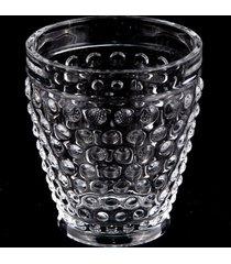 conjunto 6 copos de cristal lodz