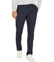 pantalón algodón orgánico azul esprit