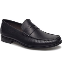 dress moc loafers låga skor svart ecco