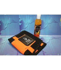 xtreme shaper belt orange + gel orange , tecnomec, xtreme power belt