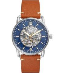 reloj fossil para hombre - the commuter auto  me3159