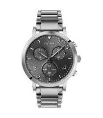 relógio hugo boss masculino aço - 1513696