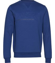 amr crew sweat-shirt trui blauw hackett london