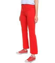 pantalón rojo emmao oxford