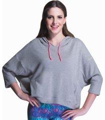 blusa moletom manga longa mescla - 506.8213 marcyn active camisetas fitness multicolorido