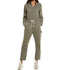 women's one teaspoon khaki jumpsuit, size x-large - green