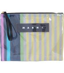 marni clutch with logo