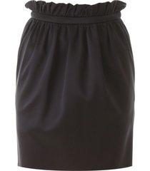 versace bubble mini skirt