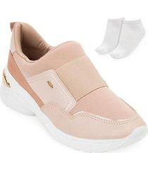 tênis dad sneaker dakota e meia dt20-g2482 - feminino