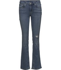 2nd cissi cloudy jeans wijde pijpen blauw 2ndday