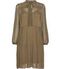 peonykb short dress knälång klänning grön karen by simonsen