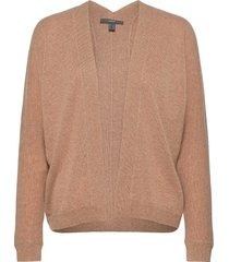 sweaters cardigan stickad tröja cardigan brun esprit collection