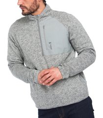 barbour men's liam half-zip pullover sweater