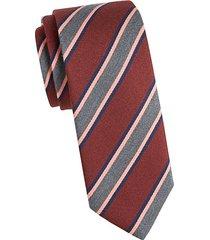 striped wool tie