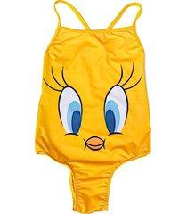 traje de baño amarillo licences group funny store