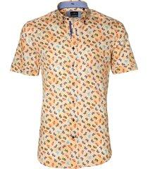 jac hensen overhemd - modern fit - zalm