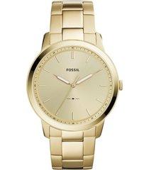 reloj fashion dorado fossil