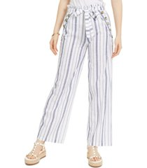 derek heart juniors' striped belted sailor pants