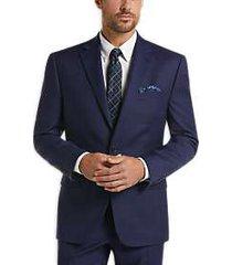 lauren by ralph lauren navy plaid classic fit suit