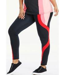 colourblock leggings