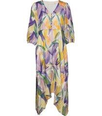 lemonkb dress jurk knielengte multi/patroon karen by simonsen