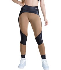 calça legging feminina surty tense bronze