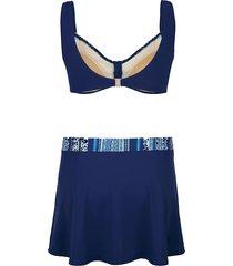 bikini maritim marinblå