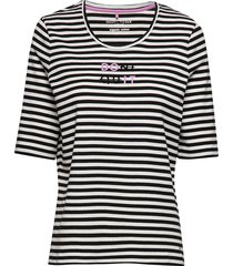 t-shirt short-sleeve t-shirts & tops short-sleeved multi/mönstrad gerry weber edition