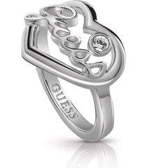 anillo guess princess /ubr85048-56 - plateado