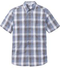 kortärmad skjorta med bekvämt snitt