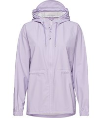 w jacket regenkleding paars rains