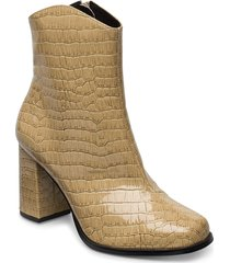 vmnatti boot shoes boots ankle boots ankle boots with heel brun vero moda