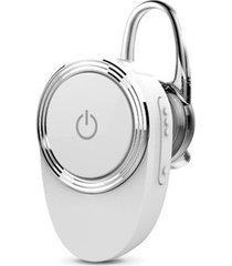 audífonos bluetooth, lu-03mb beats deportivos inalámbrico estereo hd de 4,1 audifonos bluetooth manos libres construir-en mic con ear-gancho para sony iphone samsung (blanco)