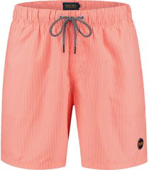 shiwi heren zwembroek skinny stripe neon orange