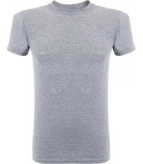 naked and famous vintage circular knit grey t-shirt