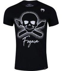 camiseta venum fogaça - masculina - preto