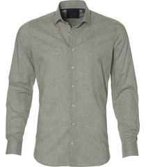nils overhemd - slim fit - grijs