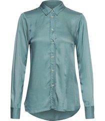 sl jeanette shirt ls overhemd met lange mouwen blauw soaked in luxury