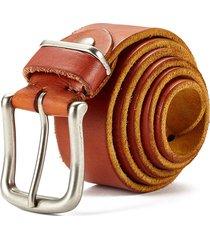 cinturón de hombres, cinturón de cuero casual-marrón