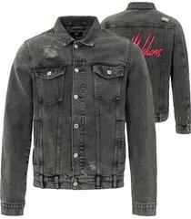 malelions signature denim jacket