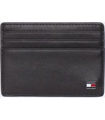 tommy hilfiger men's credit card holder black -