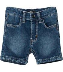 hugo boss blue bermuda shorts
