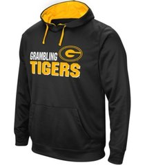 colosseum men's grambling tigers stack performance hoodie
