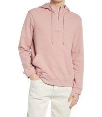 men's club monaco men's tea shop hoodie, size xx-large - pink