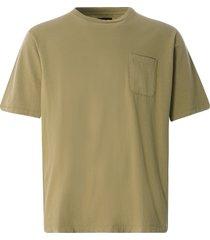 monitaly 18/1 jersey s/s pocket tee | khaki | m29701-khk