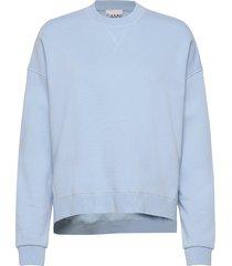 isoli sweat-shirt trui blauw ganni